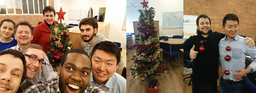 Communities plenty for 7...or 8: The DigitalMR Christmas community